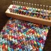 1 Set 16x4cmWooden Board Knitting Loom Machine Knitting Tools Scarves Maker DIY Handmade Easy Weaving Tool
