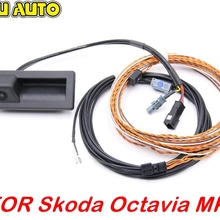 Trunk-Handle-Camera Skoda Octavia Rear-View Superb 3v FOR MK3 B8 with Highline Wiring-Harness