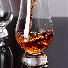 1PC NEW Whiskey Glass Bourbon Rocks Scotch Glasses Wine Cup Liqueur White Spirits Shaped Crystal Clear Glassware for Bar