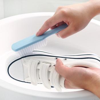 Losowa plastikowa szczotka szczotka do czyszczenia butów uniwersalna szczotka do mycia produktów narzędzia gospodarstwa domowego szczotka do butów urządzenia do oczyszczania tanie i dobre opinie CN (pochodzenie)