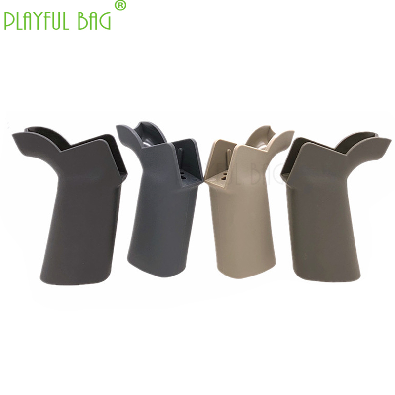 Outdoor CS Toys Accessories Umbrella Grip General Motor Grip For AR Case Water Bullet Gun No. 2 Split Case Grip LD68