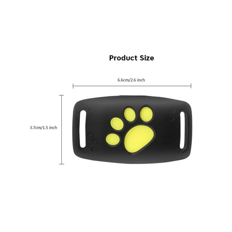 Dogs Pet GPS Tracker Kids Personal Locator Anti-Lost Tracking Device Water-Resistant Security Finder Locator Pet Products Fidget