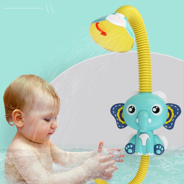 Baby Elephant Sprinkler Bath Toy 2