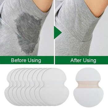 100PCS Armpits Sweat Pads For Underarm Gasket From Sweat Absorbing Pads For Armpits Linings Disposable Anti Sweat Stickers