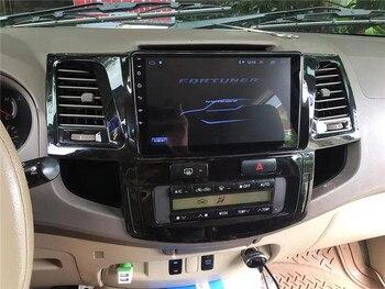 Yulbro Octa core android multimedia para coche Toyota Fortuner 2008-2014 coche dvd radio bluetooth navegación gps video IPS pantalla