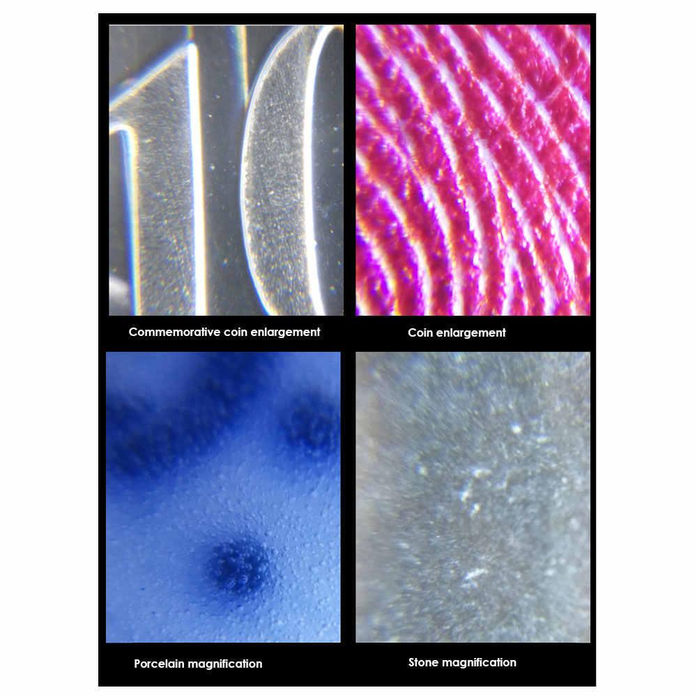 Borescope Drie LR43 Voeding (Inbegrepen) Landmeetkundige Leidingen Gadget Inspectie Camera 60 Keer Microscoop Praktische Zilver