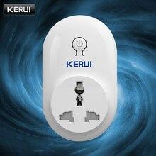 Умная розетка KERUI, цифровая радиочастотная технология, стабильная производительность, защита электронного оборудования, беспроводное подк...