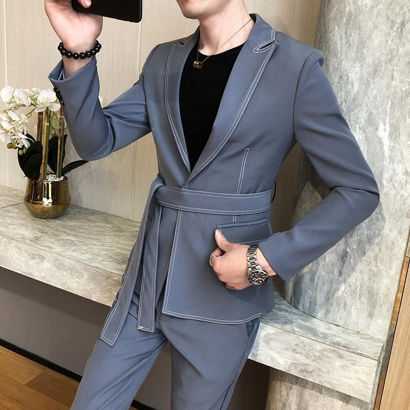 2020-spring-new-suit-men-single-button-mens (2)