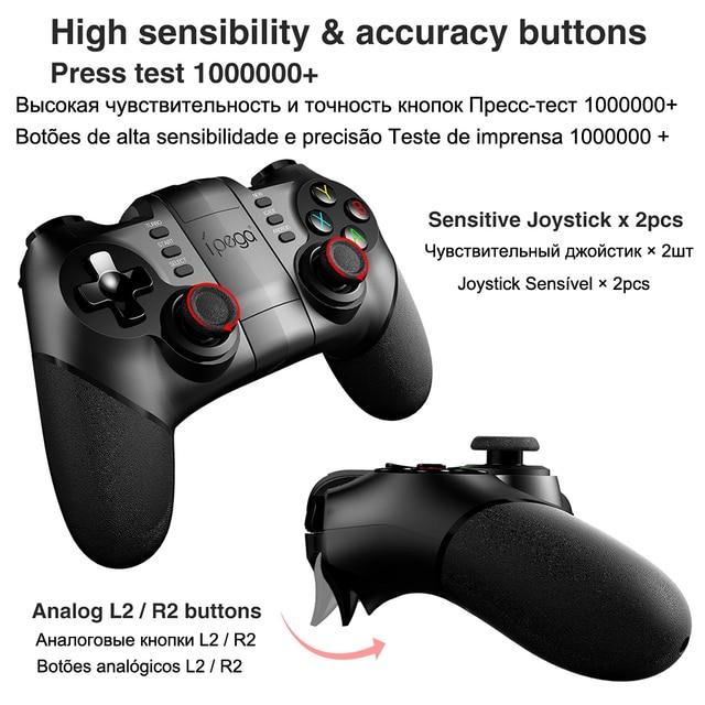 PG-9076 Bluetooth Gamepad Game Pad Controller Mobile Trigger Joystick 2