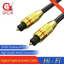 цена на Cable Optico Digital Audio Toslink SPDIF Fiber Optical Audio Cord 1.5m for Amplifiers Blu-ray Player Xbox Soundbar Optic Cable