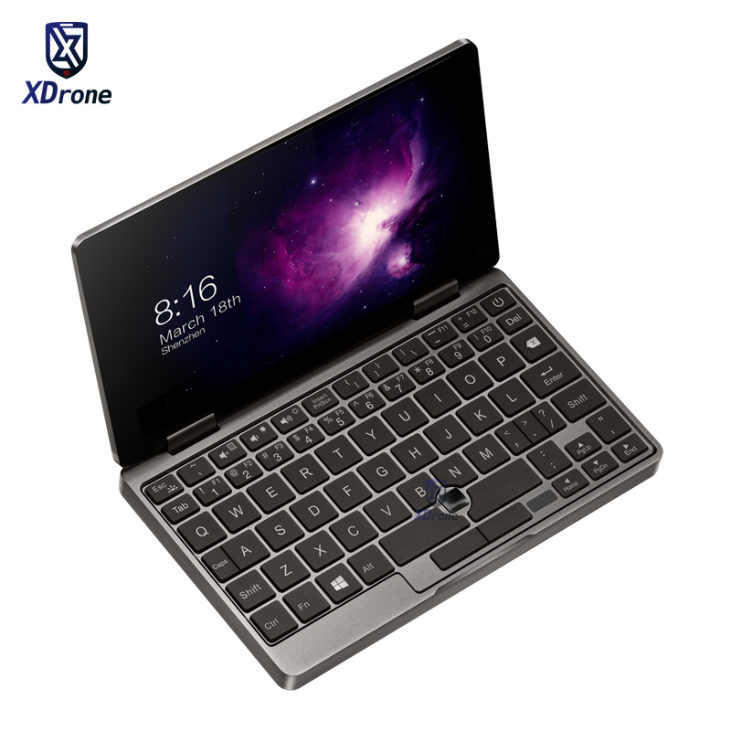 Big Gift One Netbook One Mix 2S Pocket Laptop Mini PC Notebook Windows 10.1 7'' Intel Core M3-8100Y 8GB DDR3 256GB PCIE SSD