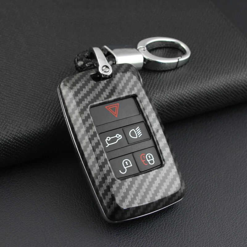 Auto Auto Schlüssel Fall W/Keychain Abdeckung Fob Shell Für Neue Range Rover Sport Evoque