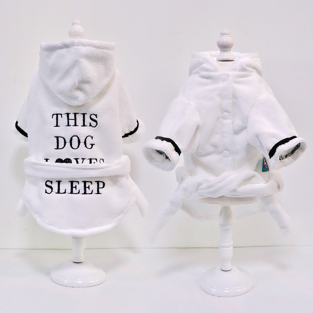 Cute Dog Pajamas Pet Puppy Clothes Clothing Soft Pets Dogs Cat Coat Costume For Small Medium