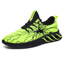 Men running shoes Lightning storm Breathable Sport Shoe outdoor Athletic light running shoes Walking Footwear Trainers  Sneakers цена