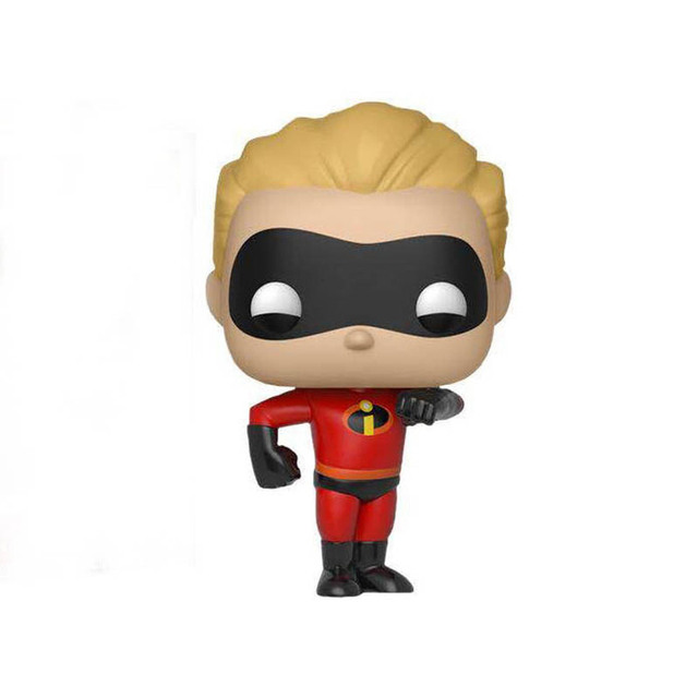 FUNKO POP Disney Movie The Incredibles 2 ElastiGirl Mr.Incredible Action Figure Toys Vinyl Decoration Model Doll for Kid Gift 3