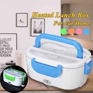Lunch-Box Food-Container Stainless-Steel Heated Electric Portable 220V Car 110V 12V-24V
