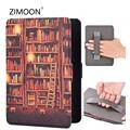 Смарт-чехол с подставкой на запястье для Amazon Kindle Paperwhite 2 3 Магнитный флип-чехол для Paperwhite 6 'чехол для планшета с автоматическим просыпанием/с...