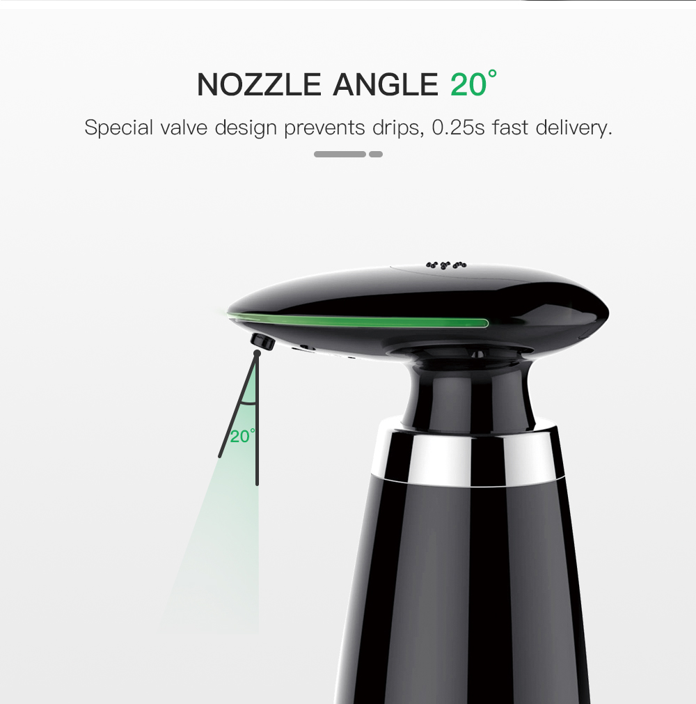 Hd4179af27ae441ac9d400fb2adddfeddB SVAVO 350ml Automatic Soap Dispenser Infrared Touchless Motion Bathroom Dispenser Smart Sensor Liquid Soap Dispenser for Kitchen