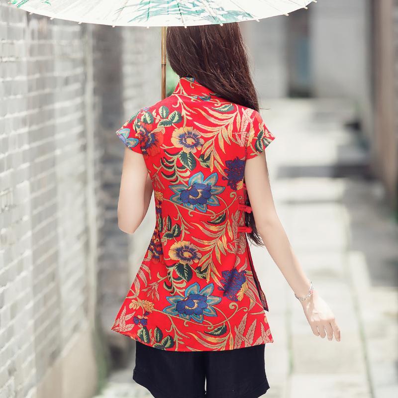 Купить этническая традиционная китайская одежда 2020 женская винтажная
