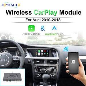 Joyeauto Wireless Apple Carplay Decoder For Audi A3 A4L A5 Q5 Q2 Q7 A1 Q3 A6 A7 A8 MMI 2G 3G 2005-2018 Android Auto Module Box