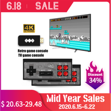 Handheld Game Console 8-Bit 568/600 Classic Games Retro Video Game Console Support Dual Players AV/HDMI Connection Connect TV hdmi classic mini tv game console support hdmi 8 bit retro video game console built in 600 games handheld gaming player