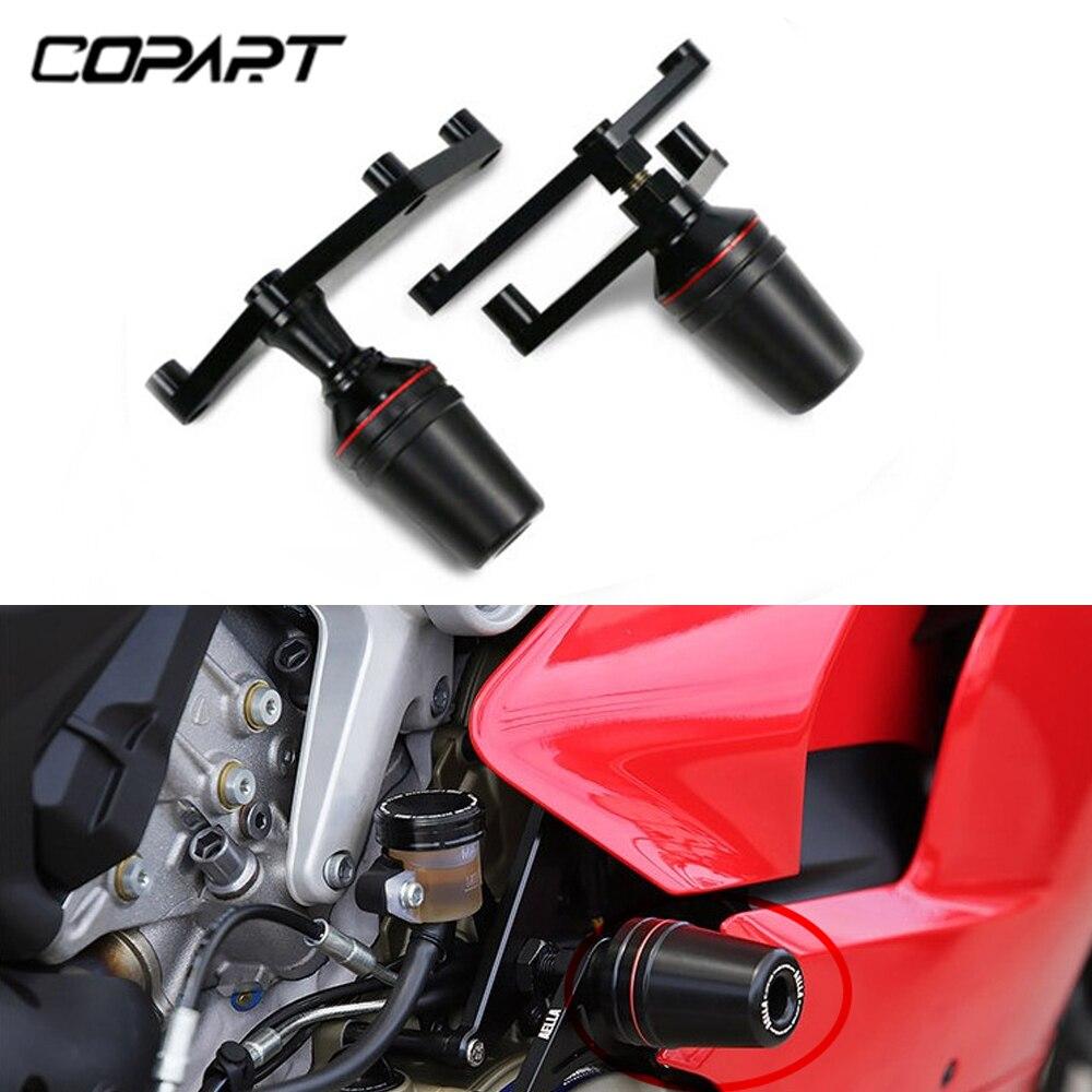 Pour Ducati Panigale V4/V4 S moto accessoires chute Protection cadre curseur carénage garde Anti Crash Pad protecteur