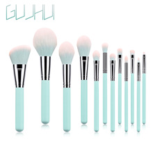 DHL 12pcs/set Makeup Brushes Set Powder Foundation Eyeshadow Eyeliner Lip Brush Tool Polvo Fundacion Sombra Delineador De Ojos