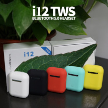 I12 tws матовые Bluetooth наушники, беспроводные наушники, свободные руки, бизнес наушники, Спортивная гарнитура, Bluetooth Музыкальные наушники, наушники