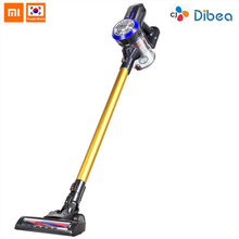 Dibea D18 2 In 1 Handheld Cordless Vacuum Cleaner Strong Suction Dust Collector Wireless Vacuum Cleaner With Wall Hanging Rack dibea c17 portable 2 in1 cordless stick handheld vacuum cleaner dust collector household aspirator with docking station sweeper