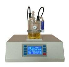 Analisador volumétrico portátil da umidade de karl fischer do método de teste do fornecedor de china