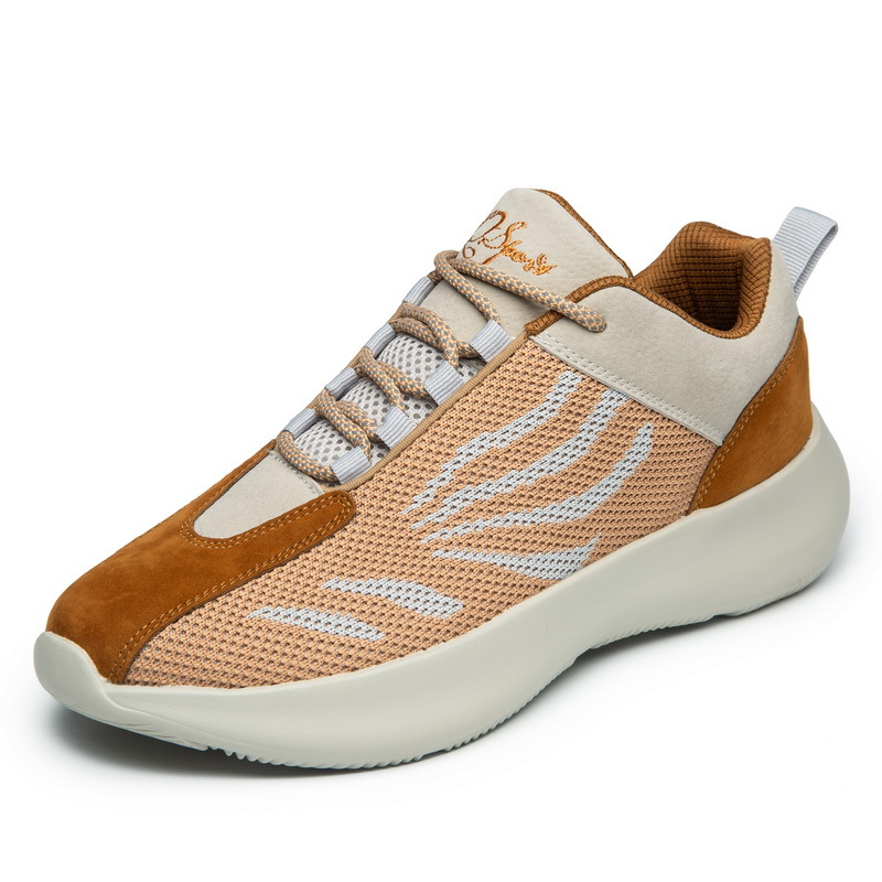 Fashion Men Casual Shoes Mesh Breathable Sneakers Walking Male Footwear New Comfortable Lightweight Shoes