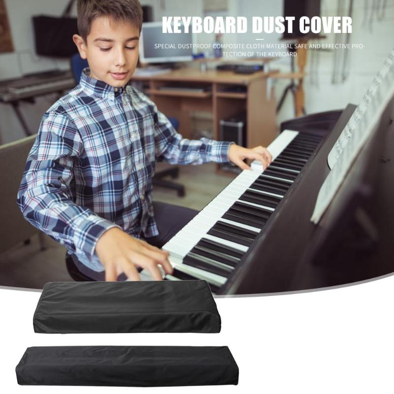 61/88 Key Electronic Digital Piano Cover Dustproof Foldable Piano Keyboard Cover Dirt-Proof Protector Piano Covers On Stage