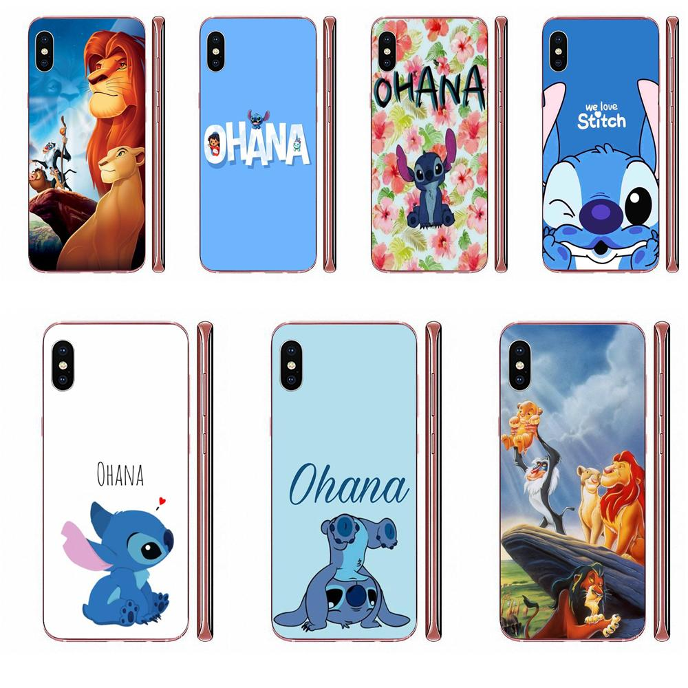 Silicone Shell Case Ohana Means Family Lion King For Galaxy A10 A10S A20 A20S A20E A30 A30S A40 A40S A50 A50S S8 S9 S10 S20 Plus image