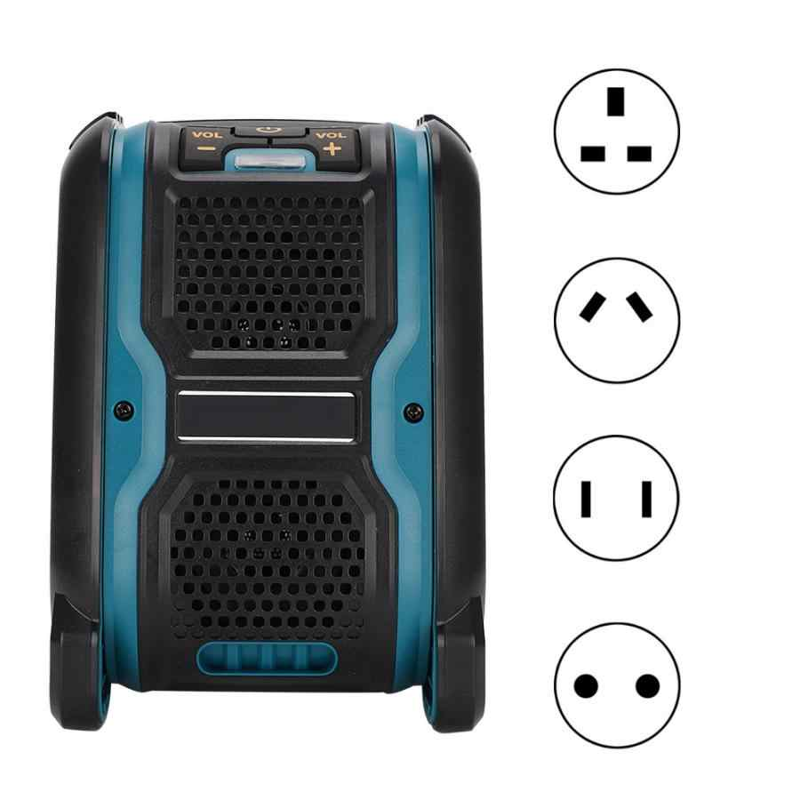 Alternatif untuk Mivoch Bluetooth Speaker dengan 14.4/18V Lithium Battery 100-260V US/EU/ AU/UK Plug Hijau