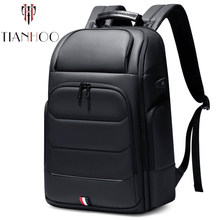 TIANHOO Multifunctional short trip business travel bag 15.6inch computer bags large capacity backpack(China)