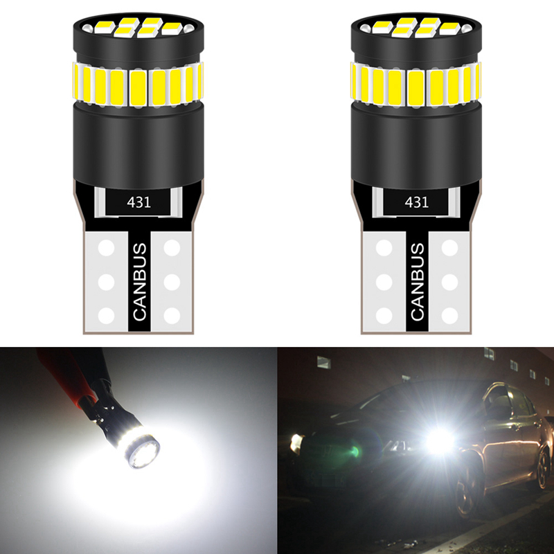 Canbus T10 W5W LED Clearance Parking Lights 168 194 2825 Bulb For Toyota Corolla Camry Highlander Reize Crown Prado Prius Rav4