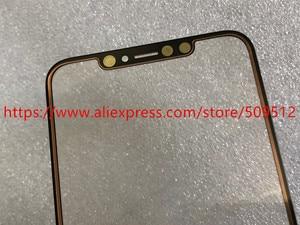 Image 5 - 1 قطعة شاشة اللمس الأصلي الجبهة الخارجي الزجاج لوحة مع الكابلات المرنة OCA آيفون X XS ماكس XR 11 11Pro ماكس استبدال أجزاء
