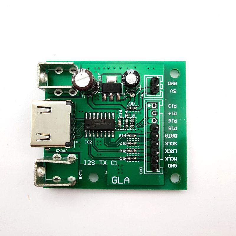TXC1 TXC2 / HDMI To IIS I2S DSD Sender Board Output Board I2S OVER HDMI Supports DSD Signal Transmission TX-C1 TX-C2