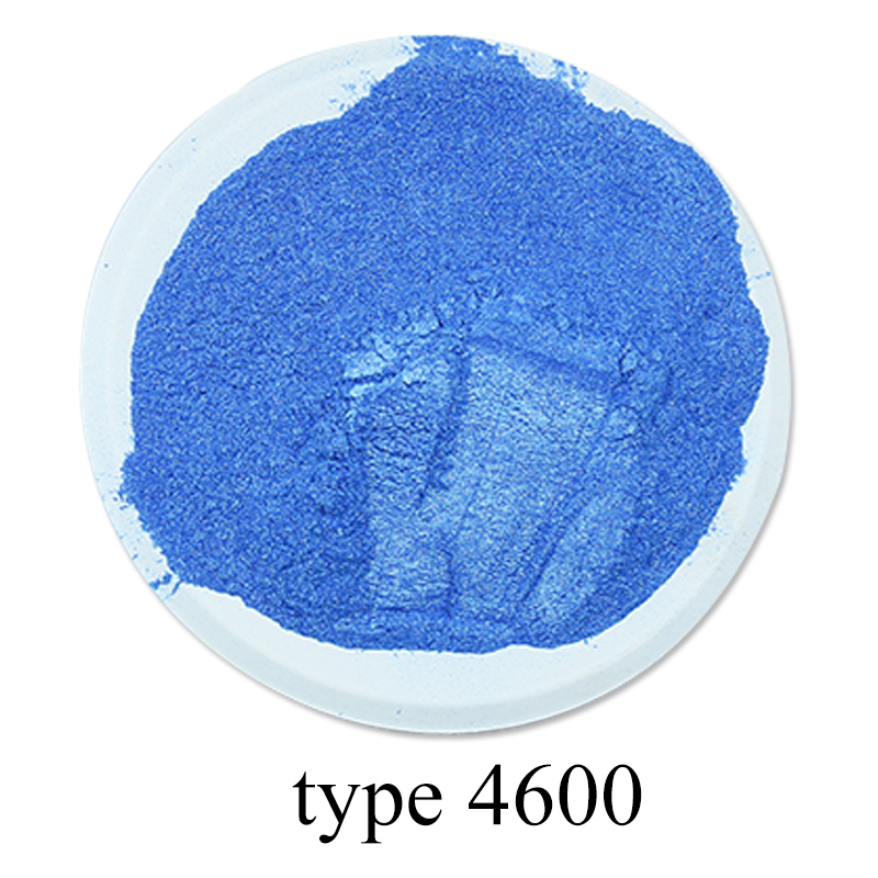 Type 4600 Pearl Powder Mineral Mica Dust DIY Dye Colorant For Soap Automotive Eye Shadow Art Crafts  50g Acrylic Paint  Pigment