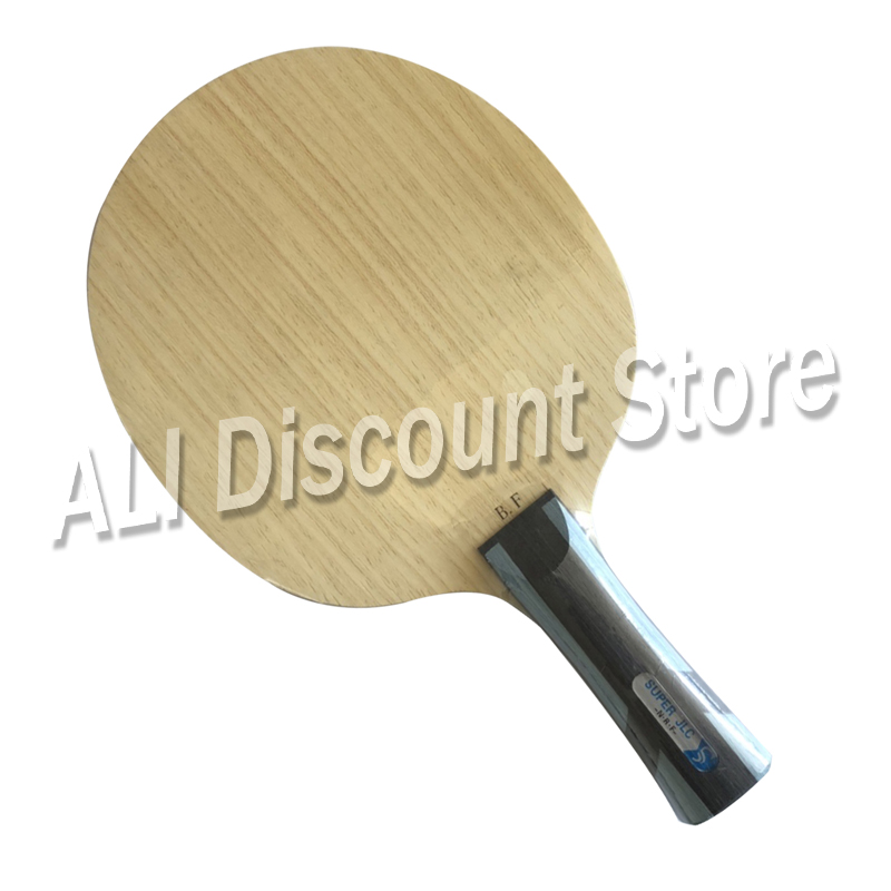 New Arrival Sword Blue Feather Table Tennis Racket Super Fiber Jlc Ping Pong Blade