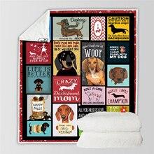 Plstar Cosmos Cute Animal Cartoon Pet dog/cat  Blanket 3D print Sherpa on Bed Home Textiles Dreamlike style-12