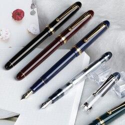 Japae Pilot Custom 74 Прозрачный 14 к Золотой фонтан офисная деловая ручка для мужчин и женщин подарок Mr FKK-1-NC