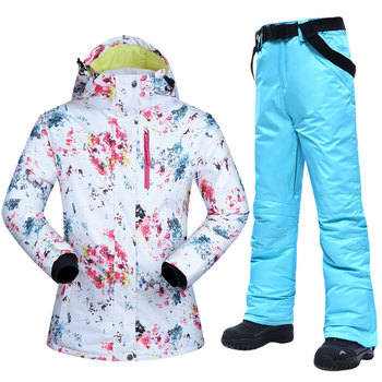 New Ski Suits Women Winter Snow Suit Female Skiing and Snowboarding Clothes Windproof Waterproof Outdoor Sports Jackets and Pant wild snow lady winter outdoor skiing jackets waterproof warmer snowboarding jackets ski suit clothes female hiking coats