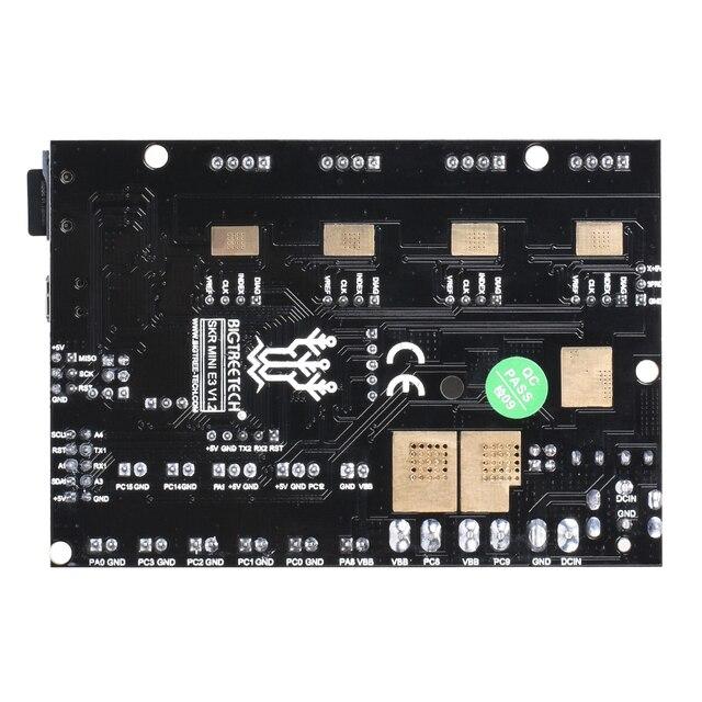 BIGTREETECH SKR mini E3 V1.2 32Bit Control Board With TMC2209 UART Driver 3D Printer Parts skr v1.3 E3 Dip For Creality Ender 3 4