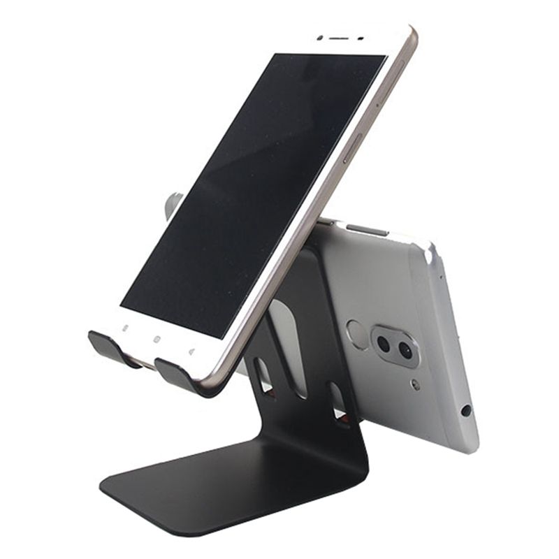 Metal Phone Holder Desktop Universal Non-slip Mobile Phone Stand Desk Hold Tablet Support