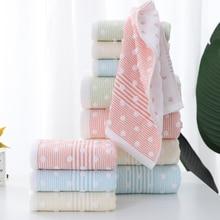 Bath-Towel Face Household Cotton Thick Dot Soft Gauze Comfortable Super-Absorbent