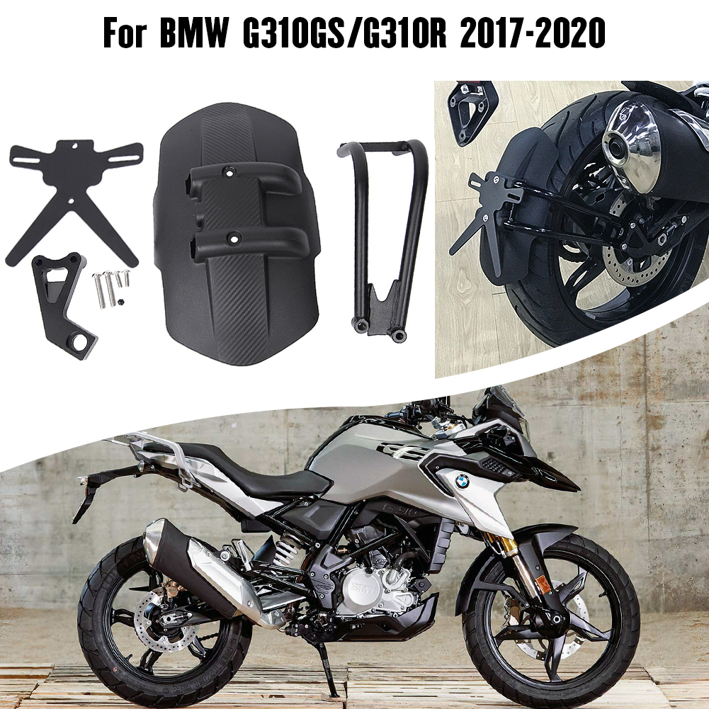 Motorcycle Rear Wheel Hugger Fender Mount Mudguard Splash Guard For <font><b>BMW</b></font> G310GS <font><b>G310R</b></font> 2017 2018 2019 2020 G310 GS Accessories image