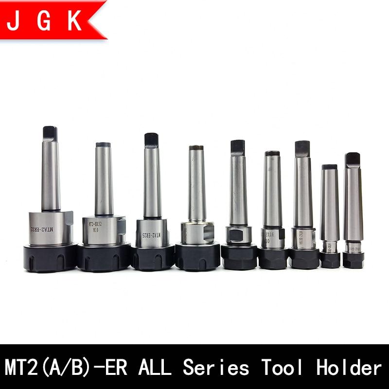 Mta2 Mtb2 Er11 Er16 Er20 Er25 Er32 Cnc Tool Holder Morse Mt2 Tool Holder Rear Pull Flat Tail Center Tool Holder Er Collet Chuck
