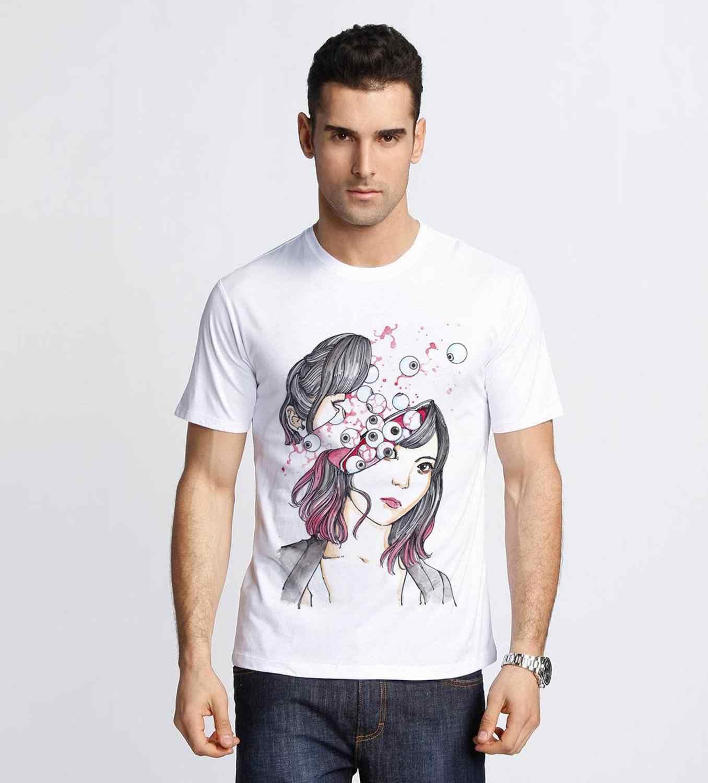 SUEHIRO MARUO t-shirt globe oculaire lécher SUEHIRO MARUO culte japon classique ANIME MANGA horreur AUGE Halloween Horrible t-shirt nouveau haut