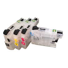 Einkshop LC233 LC235 LC237 LC239 Refillable Ink cartridge  + Chip for Brother MFC-J5720DW MFC-J5320DW  Printer ink refillable cartridge chip resetter for brother lc223 lc203 lc213 lc233 empty cartridge for brother mfc j4420dw mfc j5320dw